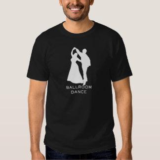 Dança - dança de salão de baile camiseta