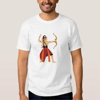 dança de java do arjuna tshirt
