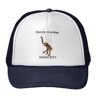 Dança de macaco da dança boné