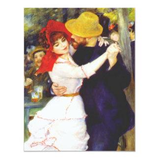 Dança de Renoir em convites de Bougival