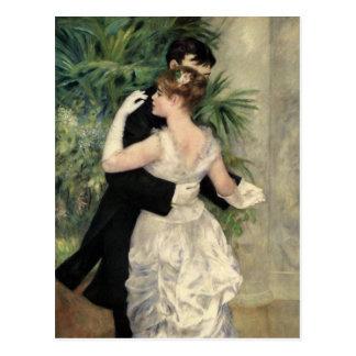 Dança de Renoir nas belas artes da cidade Cartão Postal