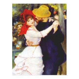 Dança de Renoir no cartão de Bougival Cartão Postal