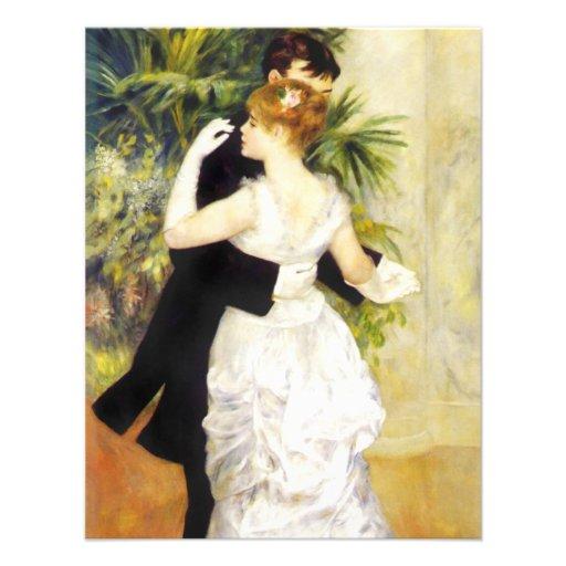Dança de Renoir nos convites da cidade
