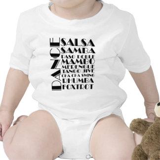 dança de salão de baile macacãozinho para bebê