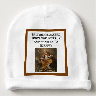 dança de salão de baile gorro para bebê