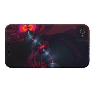 Dança Devas - vista da violeta & dos salmões Capas Para iPhone 4 Case-Mate