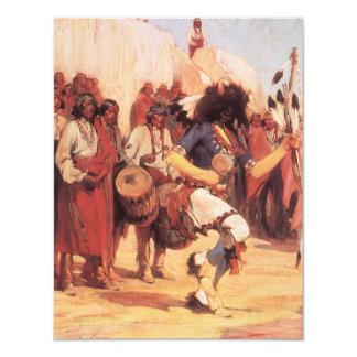 Dança do búfalo por Gerald Cassidy, dançarinos do Convites Personalizados