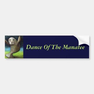Dança do peixe-boi adesivos