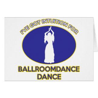 dança do ventre cartão comemorativo