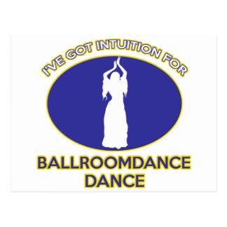 dança do ventre cartão postal