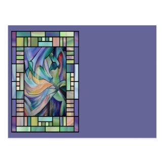 Dança do ventre de Nouveau da arte (retrato) Cartão Postal