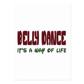Dança do ventre é um modo de vida cartão postal