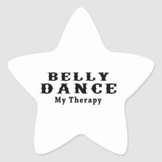 Dança do ventre minha terapia adesivos em forma de estrelas