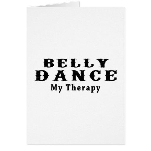 Dança do ventre minha terapia cartões