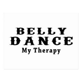 Dança do ventre minha terapia cartoes postais