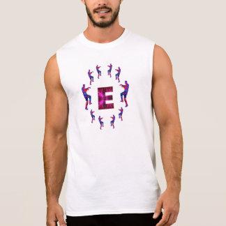 Dança do ZOMBI com alfabetos:  EEE Camisas Sem Mangas