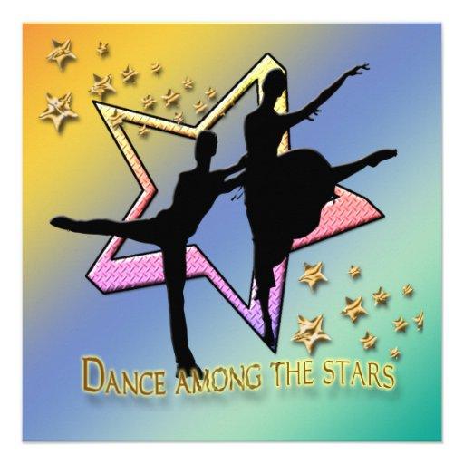 Dança entre o convite das estrelas