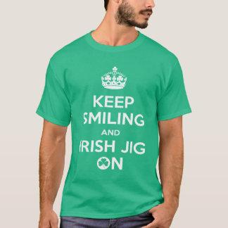 Dança irlandesa, dançarino irlandês, gabarito camiseta