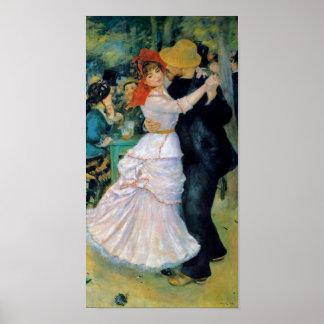 Dança no impressão das belas artes de Bougival