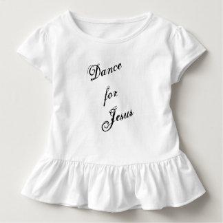 Dança para a camisa da menina de Jesus