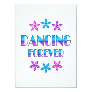 Dança para sempre convite personalizados