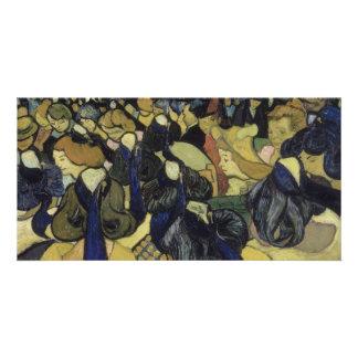 Dança salão em Arles por Vincent van Gogh Cartão Com Foto