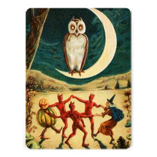 Dança sob a lua convite personalizados