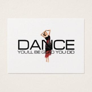 Dança SUPERIOR Cartão De Visitas