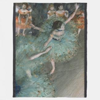 Dançarino de balanço, dançarino no verde por Edgar Cobertor De Lã