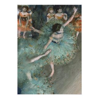 Dançarino de balanço, dançarino no verde por Edgar Convite