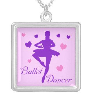 Dançarino de balé colar