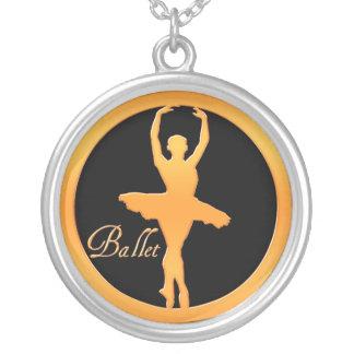 Dançarino de balé bijuterias