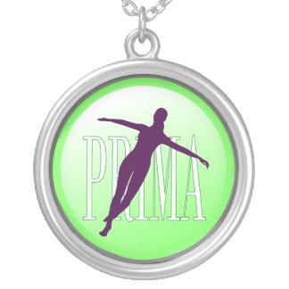 Dançarino de balé pingentes