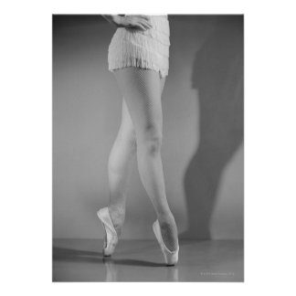 Dançarino de balé convite personalizados