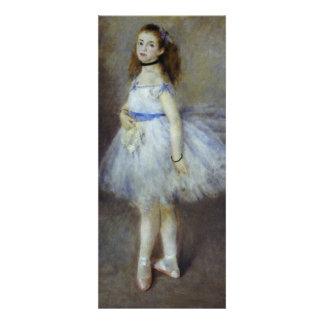 Dançarino de balé por Renoir arte do Convites