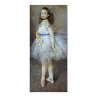Dançarino de balé por Renoir, arte do Convites