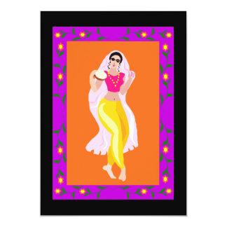 Dançarino de barriga convites personalizados