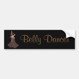 Dançarino de barriga de Brown Adesivo Para Carro