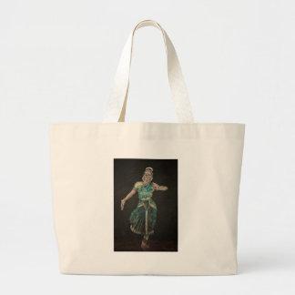 Dançarino de Bharatanatyam Bolsa Para Compras