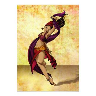 Dançarino de Rohesia Convite