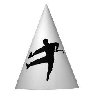 Dançarino de torneira do chapéu alto e do bastão
