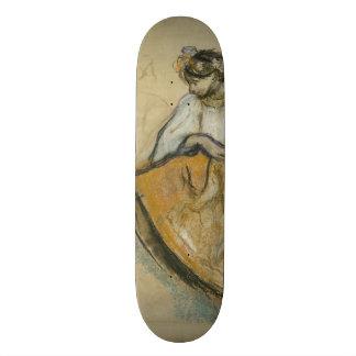 Dançarino do russo por Edgar Degas Skate