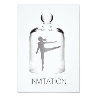 Dançarino do Vip do partido do clube nocturno da Convite 8.89 X 12.7cm