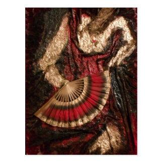 Dançarino espanhol cartão postal