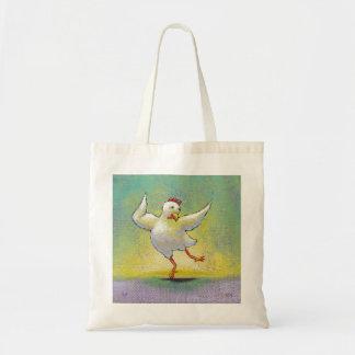 Dançarino feliz colorido bonito da arte do diverti bolsas
