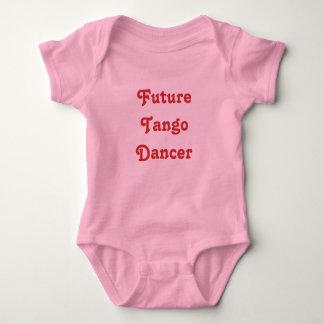 Dançarino futuro do tango body para bebê