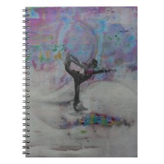 Dançarino na neve - caderno