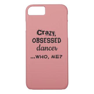 Dançarino obcecado louco das capas de iphone
