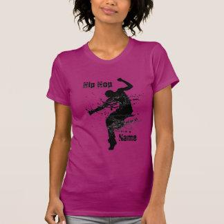 Dançarino personalizado de Hip Hop Camiseta