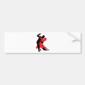 Dançarinos 1 adesivo para carro